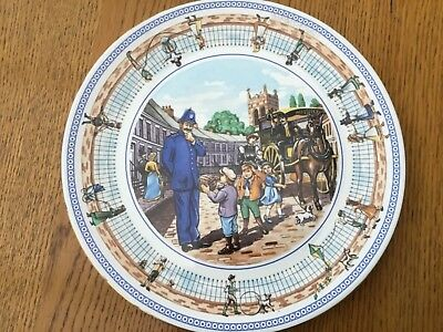"""Ringtons Street Games Decorative Plate By Wade 10.25"""" • 6£"""