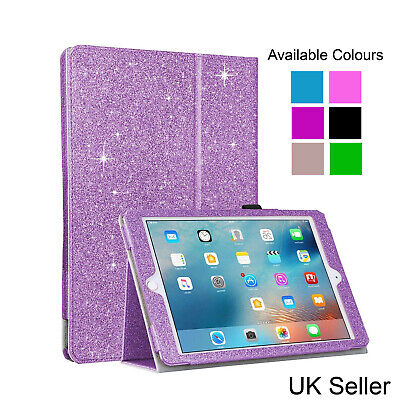 £1.99 • Buy Smart Glitter Magnetic Leather Bling Case Wallet Stand Cover For IPad Mini 1 2 3