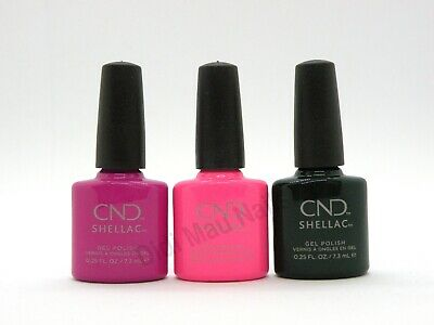 AU45.53 • Buy CND Shellac UV Gel Polish .25 Oz - PRISMATIC THE COLLECTION 2019 NEW!!
