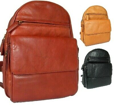 Ladies Girls Trendy Visconti Gina Leather Back Pack Bag Carry Tab Kindle Mobile  • 84.99£
