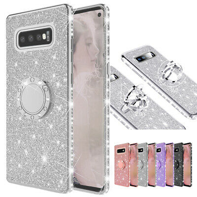 AU5.16 • Buy For Samsung Galaxy A6 A7 A8 J4 Plus 2018 Glitter Diamond Bling Stand Case Cover
