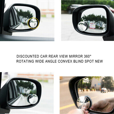 $ CDN1.39 • Buy 1PC Auto Car Rear View Mirror 360° Rotating Wide Angle Convex Blind Spot Parts