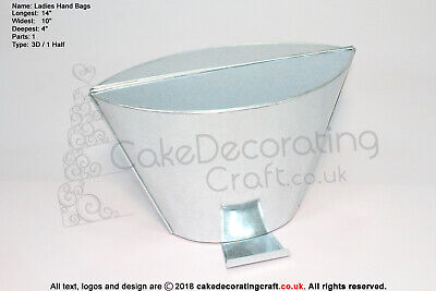 3D Novelty Baking Tins - Ladies Hand Bag 19/25  • 9.49£
