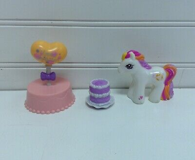My Little Pony Birthday Cake Toppers Figures Figurines Lot Set Of 3 O 1200