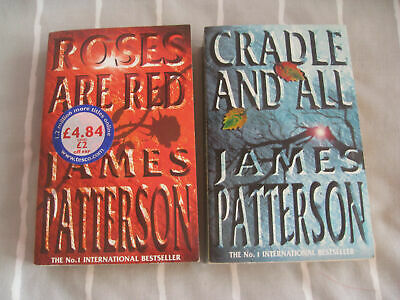 £7.50 • Buy James Patterson: Roses Are Red / Cradle & All: Brand New