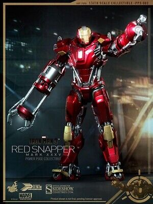 $ CDN319.99 • Buy Iron Man Mark XXXV (35) Red Snapper Power Pose Series 1:6 Hot Toys PPS002