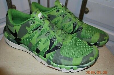 d6674a3cd8b3f Mens Nike Free 5.0 TR Camo Athletic Training Shoes 723939 - Size 11 • 50.00