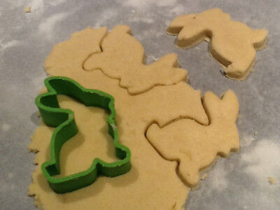 Bunny Rabbit Cookie Pastry Biscuit Cutter Icing Fondant Baking Bake Kitchen Cute • 4.99£