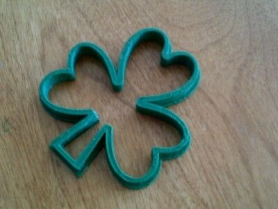 £4.99 • Buy Shamrock Irish Cookie Pastry Biscuit Cutter Icing Fondant Baking Clay Kitchen