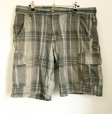 AIRWALK Grey Check Heavy Cotton Shorts XL Summer  • 10.03£