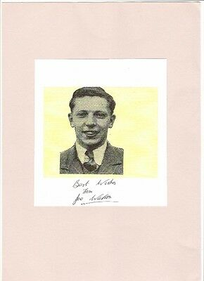 £9.99 • Buy Signed Picture Of Manchester United Footballer JOE WALTON
