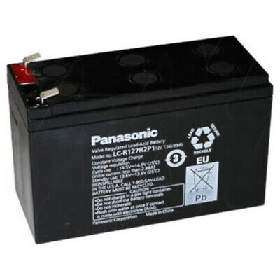 AU59.90 • Buy Panasonic 12V 7.2AMP Stand By SLA NBN Replacement Battery F2 Terminal Type