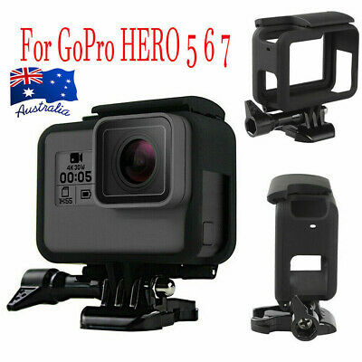 AU10.89 • Buy Frame Mount For GoPro HERO 5 6 7 Camera Protective Case Housing Accessories #T