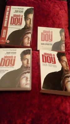 About A Boy Dvd, Book And Soundtrack Cd • 5.99£