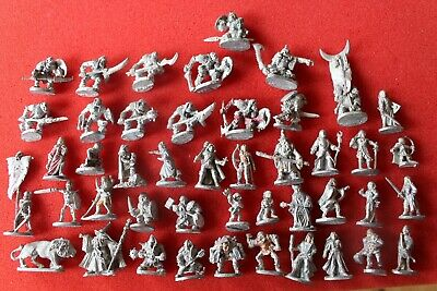 Grenadier Models Miniatures Pre Slotta Metal Figures Fantasy Orcs Elves Wizards • 11.99£