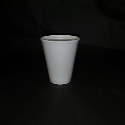 120x Polystyrene Insulated Disposable Foam Cups Takeaway Hot Drink 10oz • 9.99£