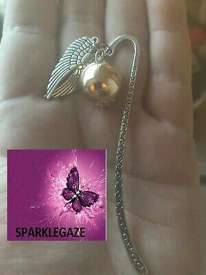 AU6.99 • Buy Brand New 2020 Harry Potter Golden Snitch Silver Metal Bookmark Aus Seller