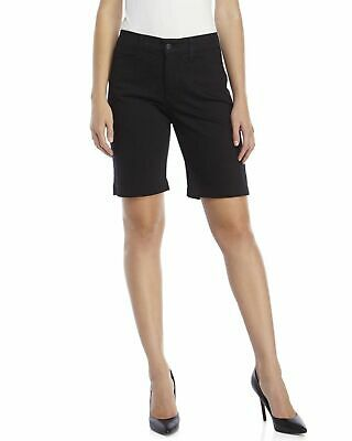 $23.99 • Buy NYDJ Not Your Daughters Jeans Black 5 Pocket Women's Shorts