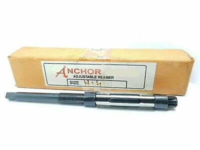 £9.99 • Buy Anchor 11.90mm To 13.49mm Adjustable Expanding Hand Reamer H4 15/32 -17/32