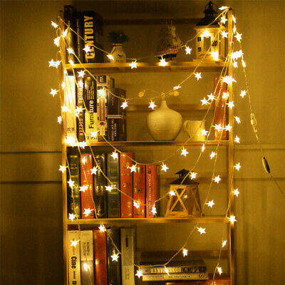 LED Star Lights Battery Garden Fairy String Micro Wedding Party Bedroom Decor  • 3.76£
