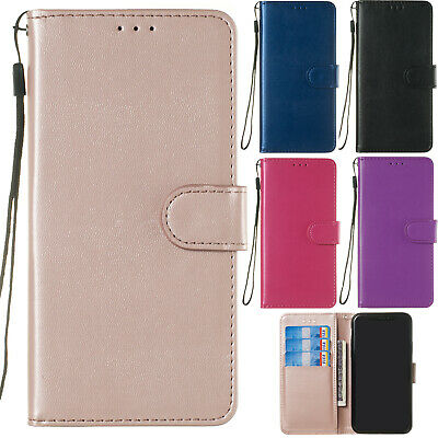 AU12.99 • Buy Classic Flip Magnetic PU Leather Stand Lot Card Pocket Case Cover Soft Bumper Y2