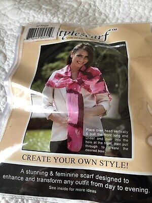 Saress Stylescarf. Scarf Brand New. TM 20 Ways. • 11£