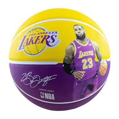 AU29.99 • Buy NBA Player Series - LeBron James Basketball Size 7 Outdoor Ball From Spalding
