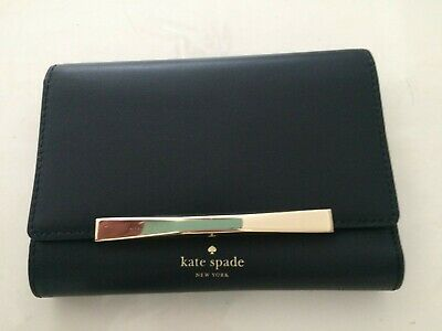 $ CDN150 • Buy New!! AUTHENTIC KATE SPADE BLACK LEATHER WALLET BRAND NEW WITH TAGS