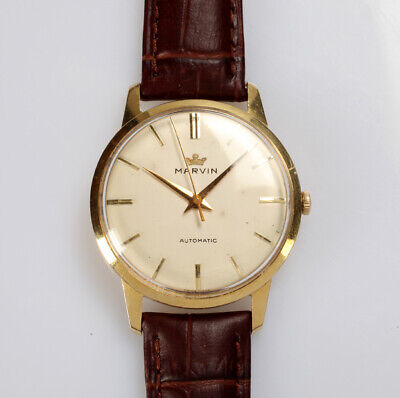 £771.67 • Buy Marvin Armbanduhr / 18 Kt Gold Automatic