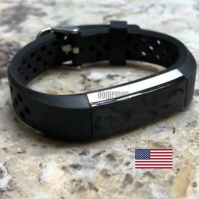 AU13.21 • Buy Soft Breathable Silicone Sport Wrist Band Strap For Fitbit Alta Fitbit Alta HR