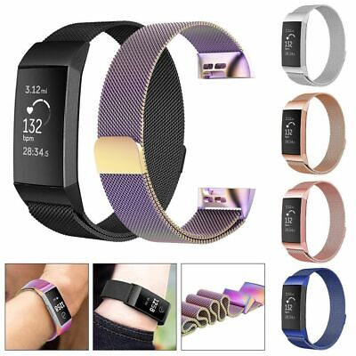 AU14.99 • Buy For Fitbit Inspire/HR Band Strap Watch Stainless Steel Milanese Loop Wristband