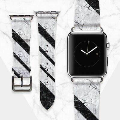 AU49.44 • Buy Marble Watch Band 38mm For Women Apple Watch Band 42mm Handmade Apple Geometry
