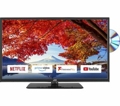£189.97 • Buy Jvc Lt-32c695 32  Smart Wifi Led Tv Freeview Play Hd Tuner Built-in Dvd Player