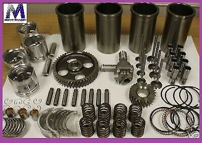 AU483.20 • Buy Engine Kit Fits GAS Toyota 4Y Forklift Pistons Rings Gkts Brgs OPump Tensioner