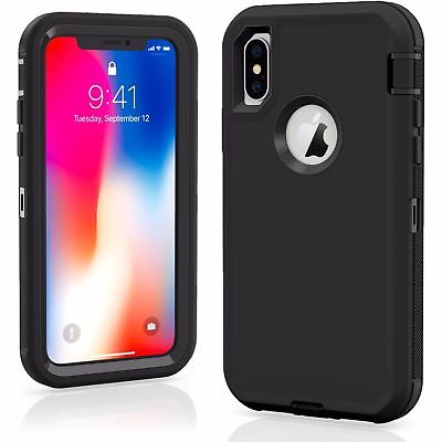 AU11.31 • Buy For IPhone 11/12/13 Xs Max 8 PLUS XR Defender Case Impact Rugged Hybrid Cover