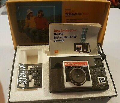 $ CDN29.77 • Buy Kodak Instamatic X-35F In Box Vintage Film Camera AS-IS