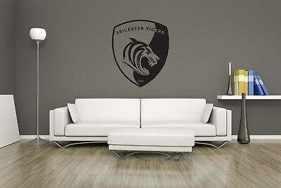 £12.74 • Buy Huge Leicester Tigers Rugby Team Logo Vinyl Sticker Wall Art / Man Cave