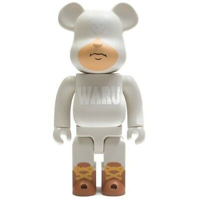 $125 • Buy Medicom BE@RBRICK Santastic! Entertainment Tokyo Tribe Waru 400% White Bearbrick