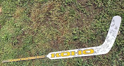 Koho Graphite Pro 590 Goalie Hockey Stick Autographed Don't Know By Who??? • 45.99$