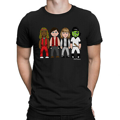 Mens VIPwees T-Shirt Turf Wars Cult Action 70s Retro Movie Caricature Gift Him • 12.99£