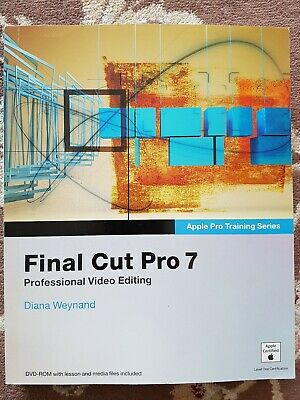 £8 • Buy Apple Pro Training Series: Final Cut Pro 7 By Diana Weynand (Mixed Media Produc…