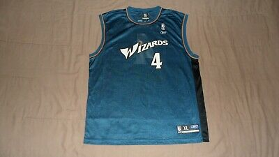 $ CDN35 • Buy Washington Wizards Blue #4 Antawn Jamison Reebok Men's XL NBA Basketball Jersey