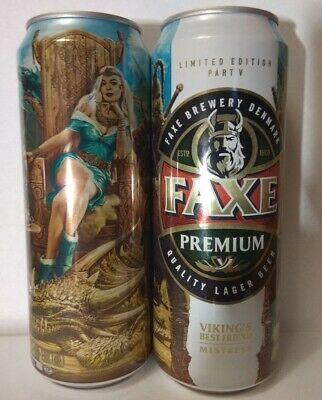 $ CDN5.29 • Buy FAXE 450 Ml. Beer Can From Russia 2018 VIKING  Limited Edition Part V Mistress