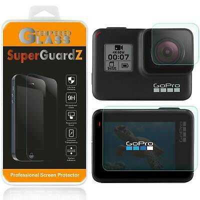 $ CDN8.74 • Buy Tempered Glass Screen Protector + Lens Cover Shield Guard For GoPro Hero7 6 5