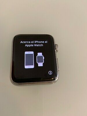 $ CDN183.86 • Buy Working Apple Watch Series 1 Stainless Steel Case 38mm Silver FACE ONLY A1554