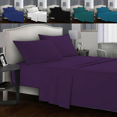 AU26.70 • Buy Ultra SOFT - 3 Pcs Fitted Sheet Set(No Flat)/ Queen King Size Bedding Set New AU