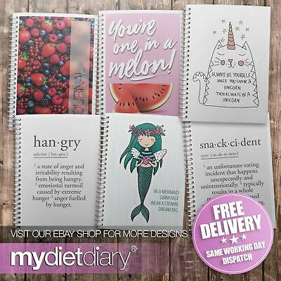 DIET DIARY WEIGHT WATCHERS WW COMPATIBLE Weight Loss Food Diary Journal 12wk • 5.95£