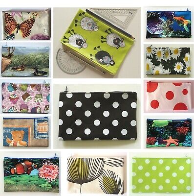 £2.20 • Buy PENCIL CASE / COSMETICS / ACESSORIES BAG - Oilcloth - *CHOOSE FROM SELECTION*