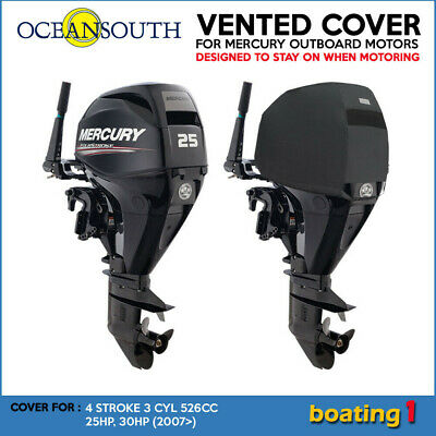 AU73.40 • Buy Mercury Outboard Motor Engine Vented Cover 4 STR 3 CYL 526CC 25HP, 30HP (2007>)