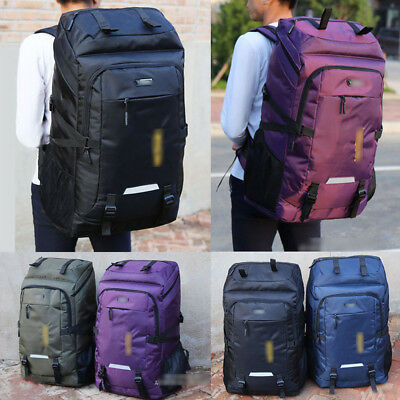 AU40.61 • Buy 80L Travel Outdoor  Waterproof Rucksack Backpack Luggage Bags For Camping Hiking